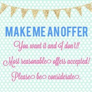Reasonable offers accepted!!